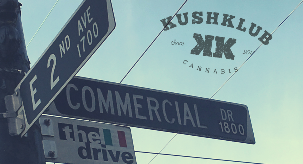 Kushklub Street Signs
